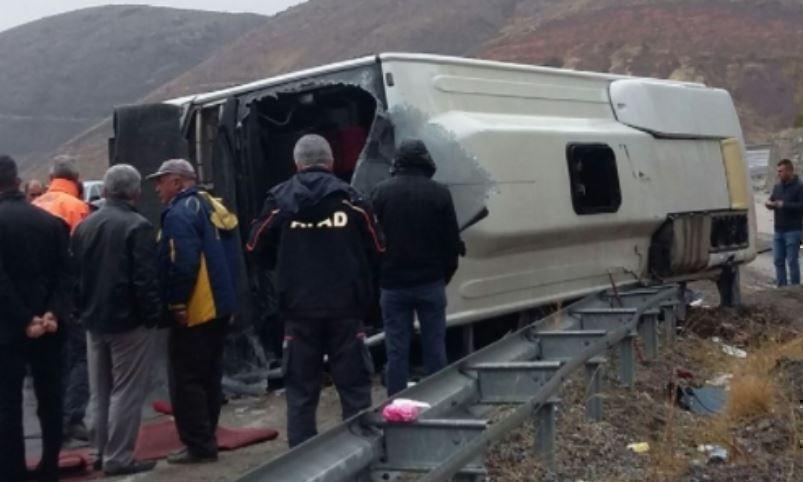 В Турции произошло ДТП с пассажирским автобусом, есть жертвы