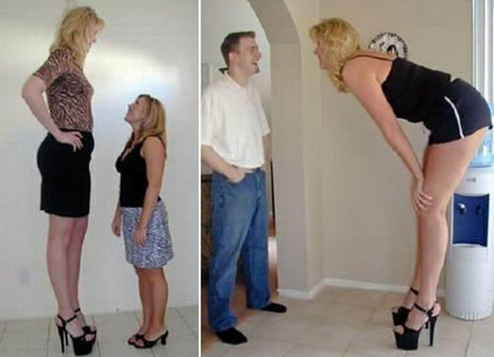 10 самых высоких женщин Земли