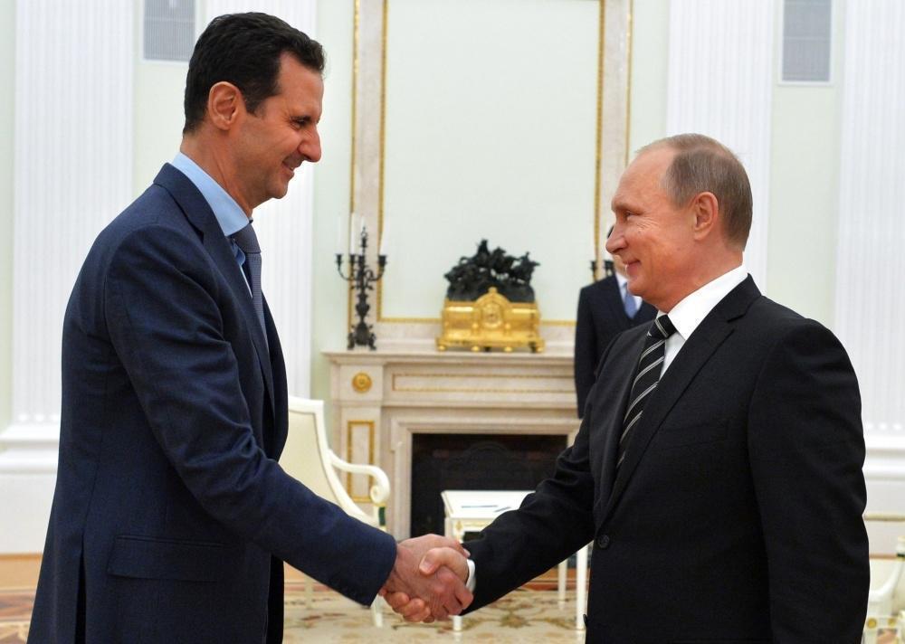 В Сочи прошла встреча Путина и Асада