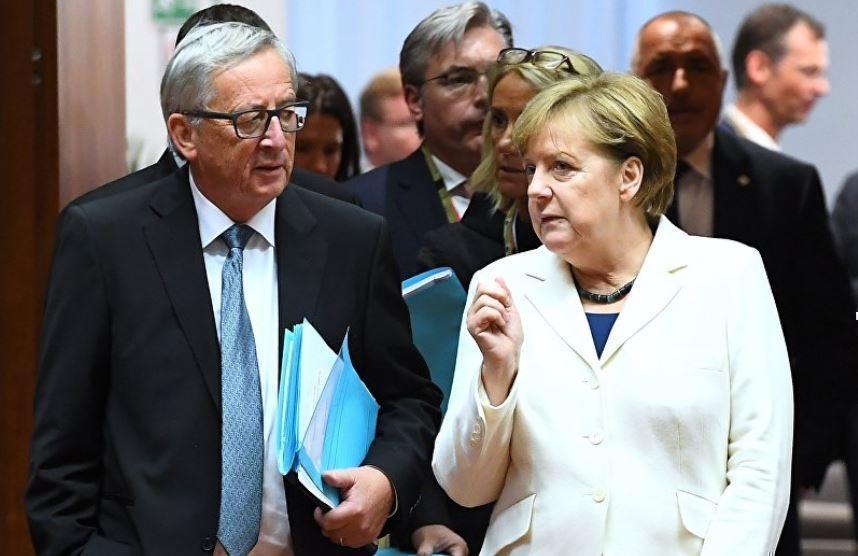 Меркель и Юнкер сбрасывают альянс с парохода истории