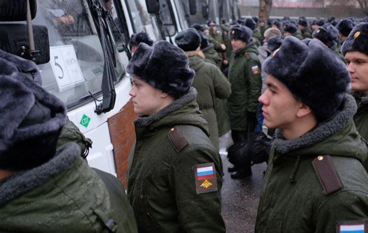 Украина требует от РФ отменить призыв крымчан в армию