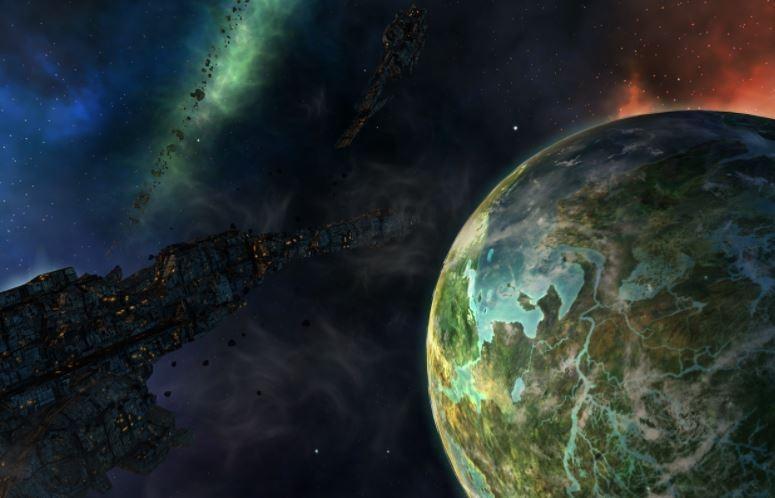 Учёные считают, что жизнь на нашей планете появилась из-за космической пыли