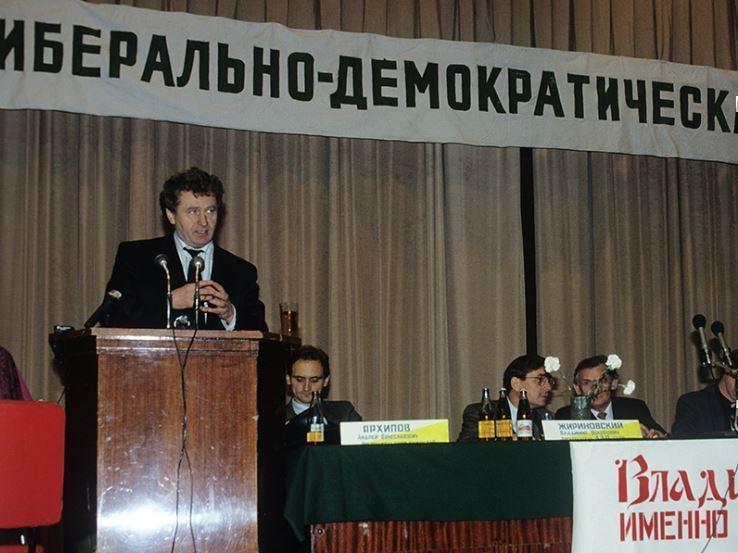 Жириновский будет кандидатом в президенты РФ