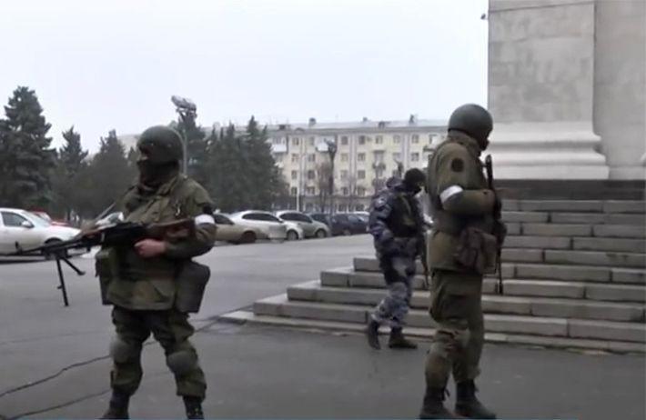 В Луганске силы МВД заняли Генпрокуратуру