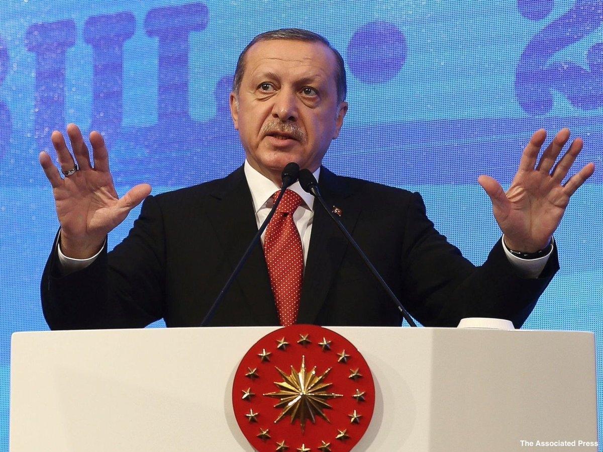 Курс турецкой лиры рухнул после заявлений Эрдогана