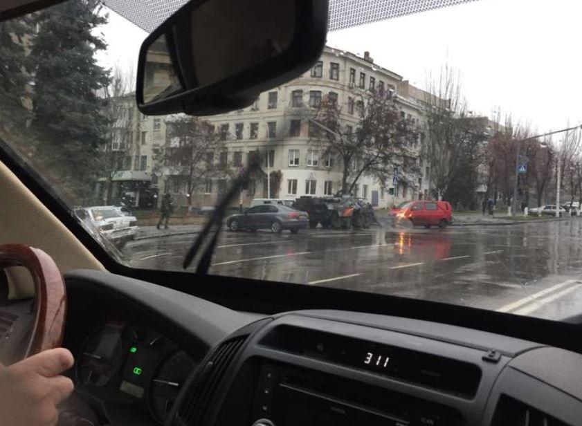 ОБСЕ разместила снимки военной техники в Луганске