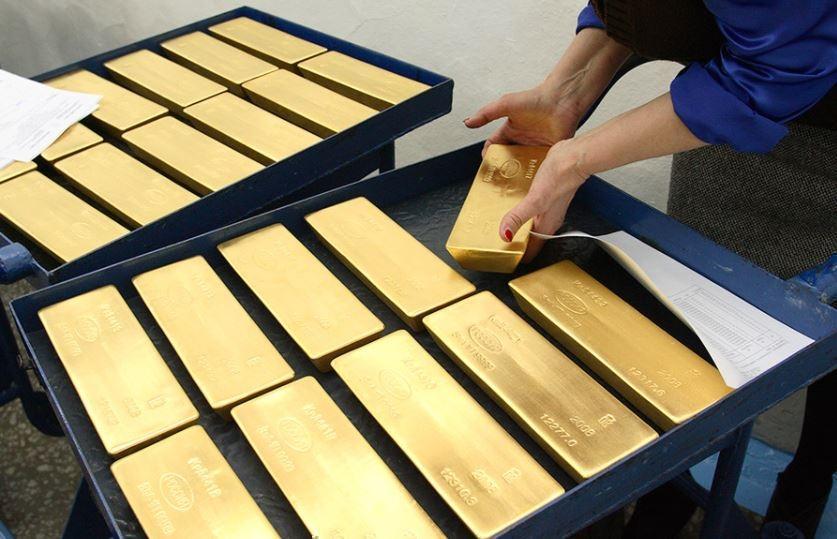 Банк РФ поведал о будущем золотого запаса