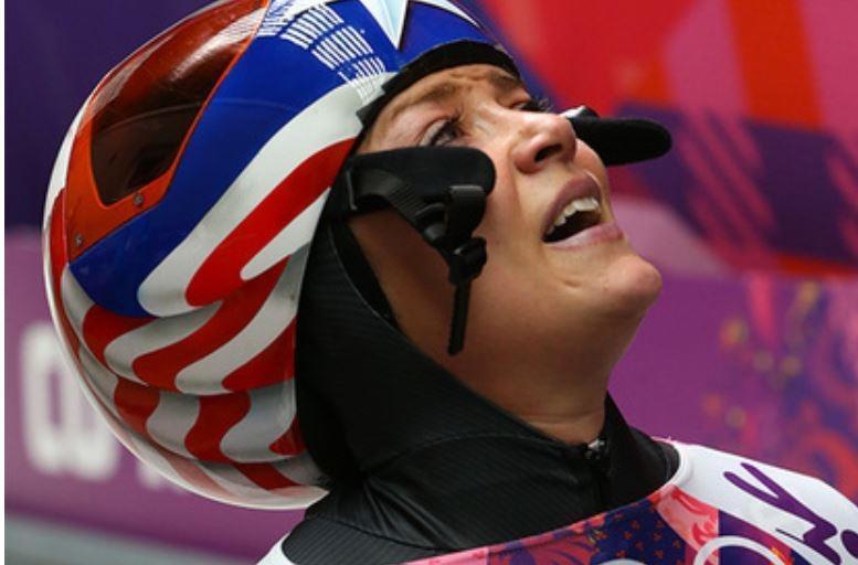 Американская скелетонистка заревела от счастья после отстранения россиянки