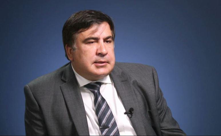 Саакашвили рассказал о распоряжении Порошенко арестовать его до 3 декабря