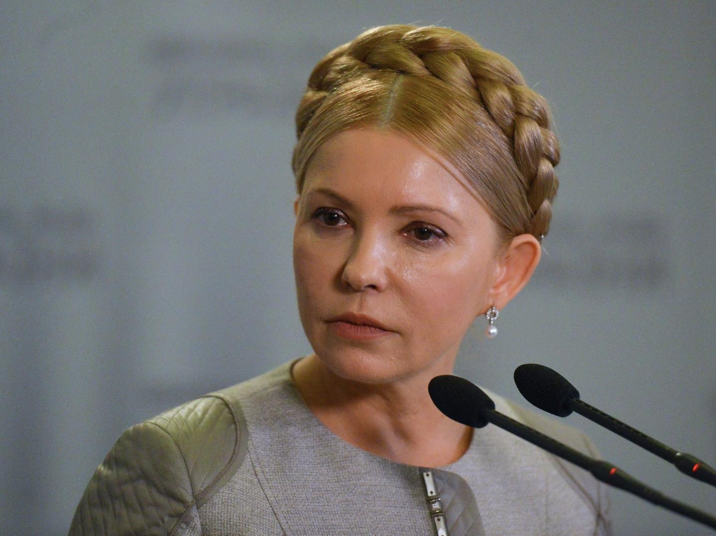 Юлия Тимошенко назвала Михаила Саакашвили президентом Украины