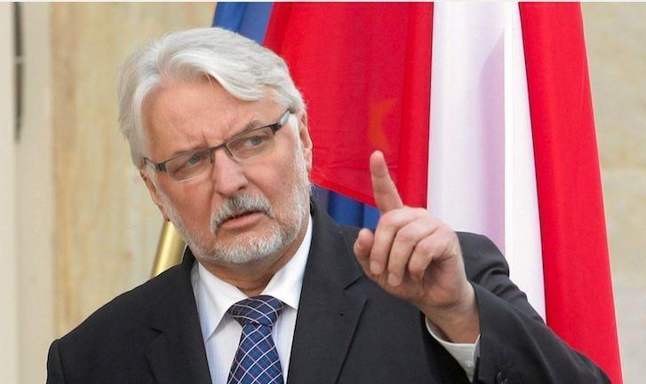 Глава МИД Польши: раз за Крым Украина не объявила РФ войну, то и нам не нужно