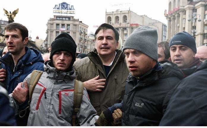 Le Monde: попытка ареста Саакашвили оказалась «кошмарным унижением» для Киева