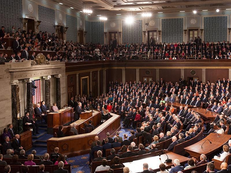 Конгресс США проголосовал против отставки Трампа