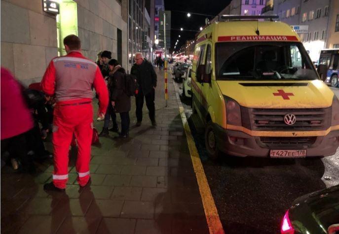 «Скорая» с российскими номерами прибыла на вызов в Стокгольме