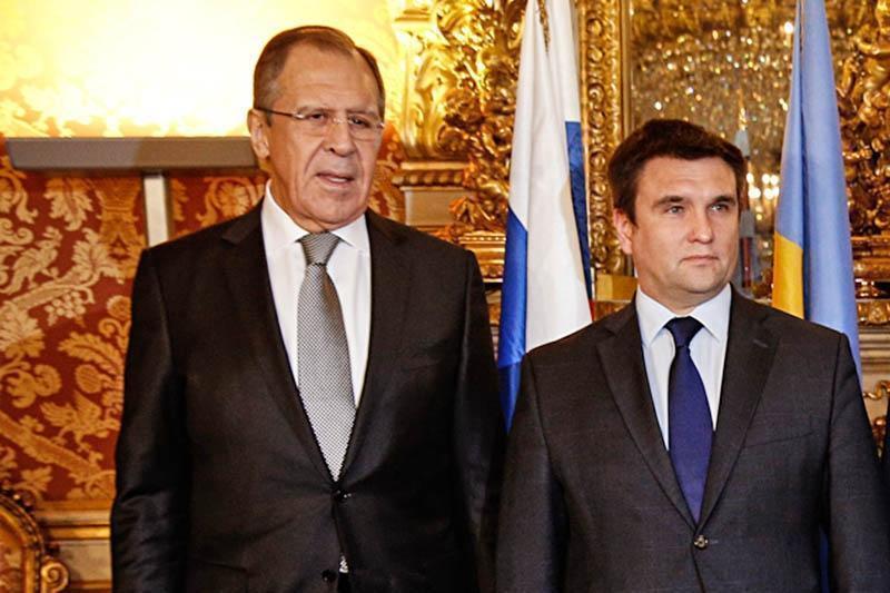 Климкин рассказал о теме разговора с Лавровым