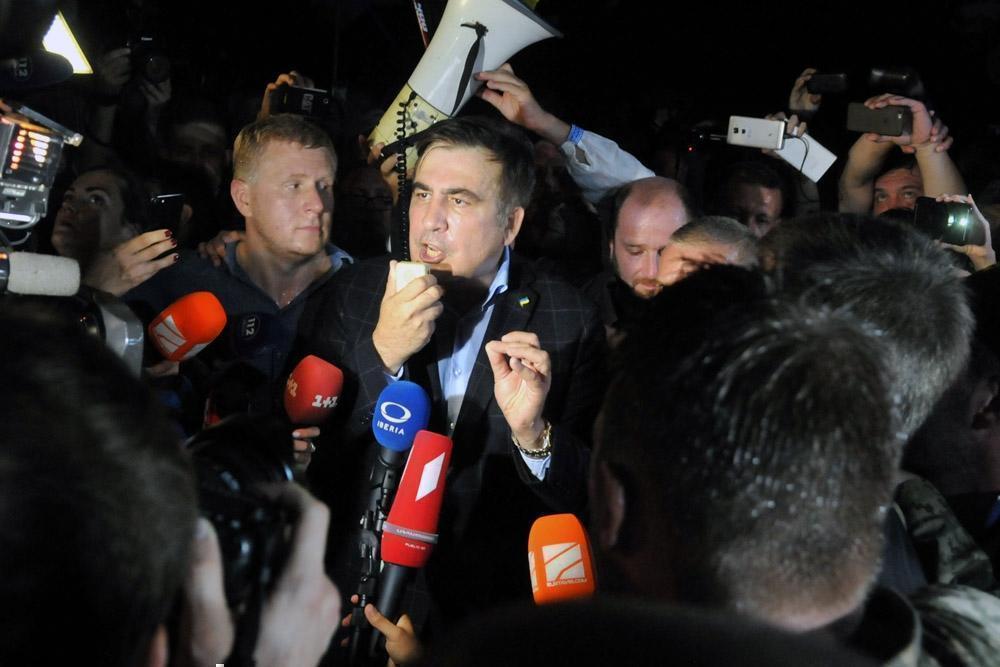 "Сторонники Саакашвили собрались в поход ""на хату"" генпрокурора Луценко"