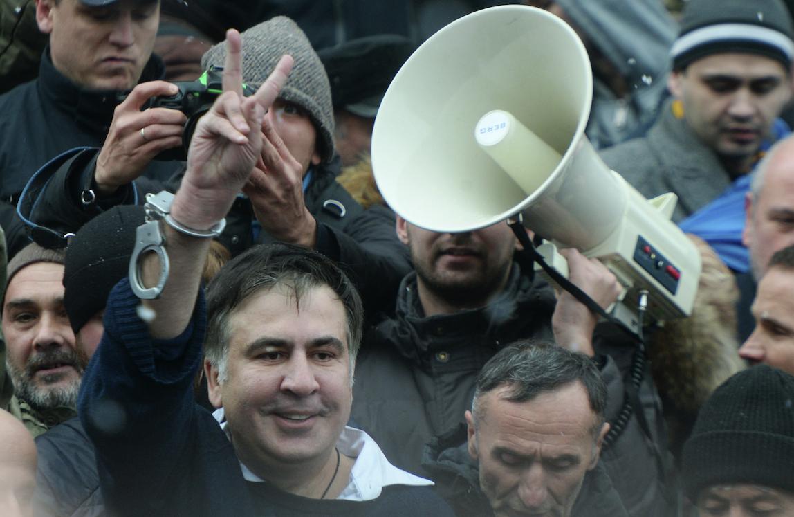 МВД Украины разрешило сторонникам Саакашвили проведение мирных акций