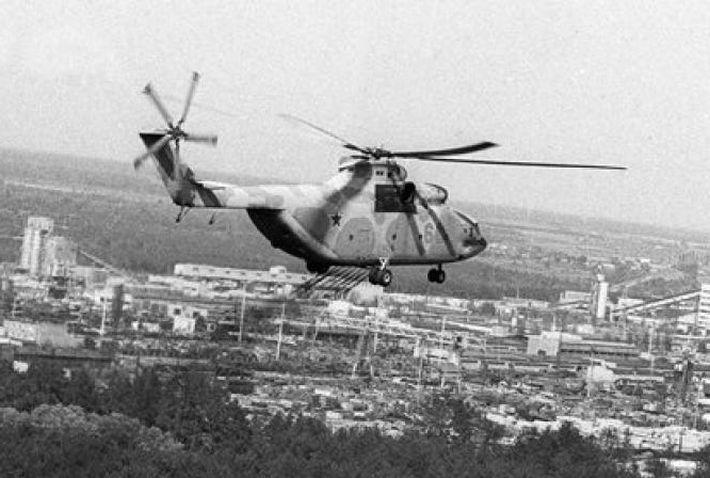 На Чернобыльской АЭС нашли части упавшего в 1986 году МИ-8