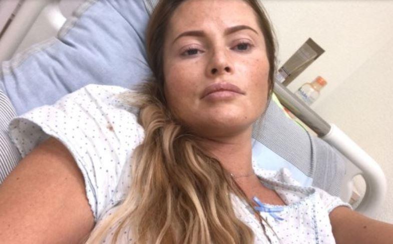 Дана Борисова выложила фото из больницы