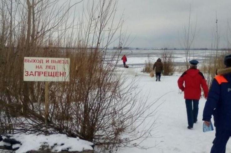 В Казанской области мужчина и женщина вмёрзли в Волгу