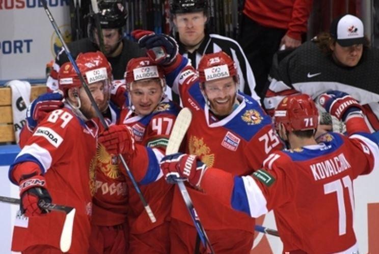Российская сборная по хоккею обыграла канадцев