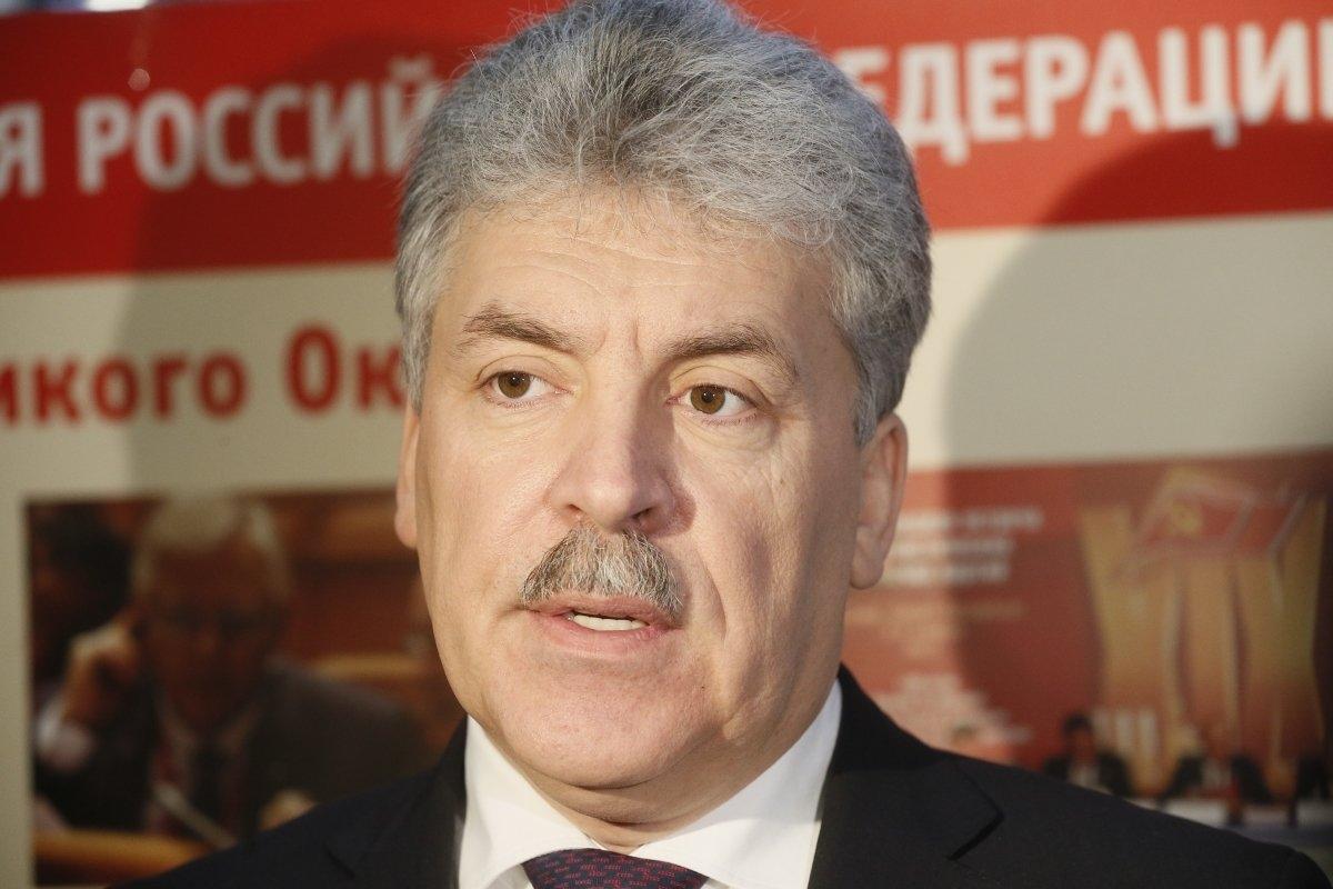 Эксперт рассказал о шансах Грудинина стать президентом РФ
