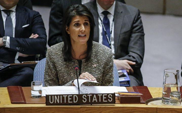 Хейли хочет, чтобы мировое сообщество поддержало решение США по Ирану
