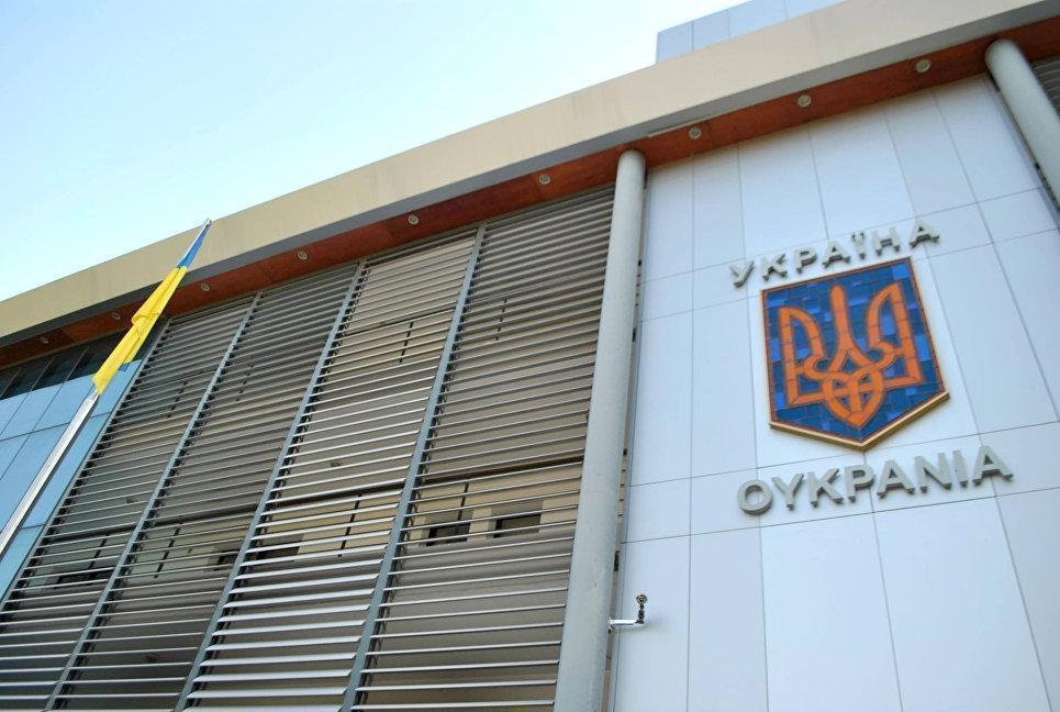 В Афинах совершено нападение на посольство Украины