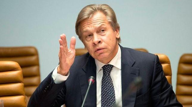 Политика Запада: Пушков прокомментировал признание главы МИД Нидерландов