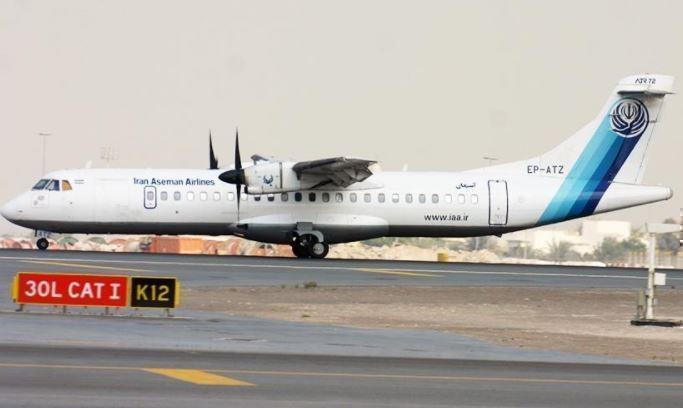 В Иране рухнул пассажирский самолет