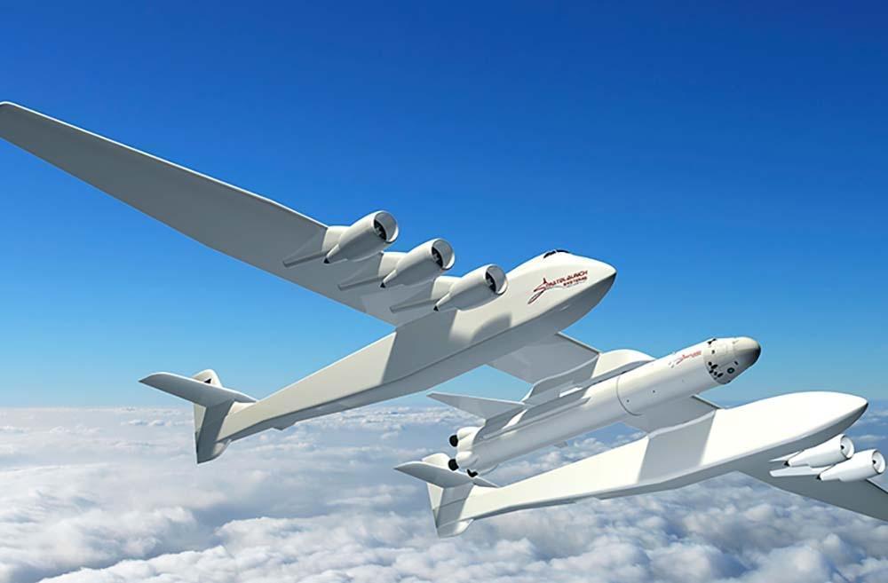 Самый большой в мире самолет прошел испытания. Видео