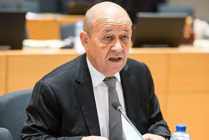Глава МИД Франции раскритиковал внешнюю политику РФ