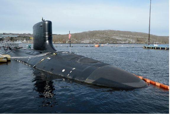 Штаты приняли на вооружение новую атомную подлодку