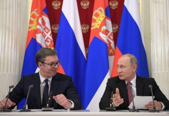 Глава Сербии поздравил Путина с победой в президентских выборах