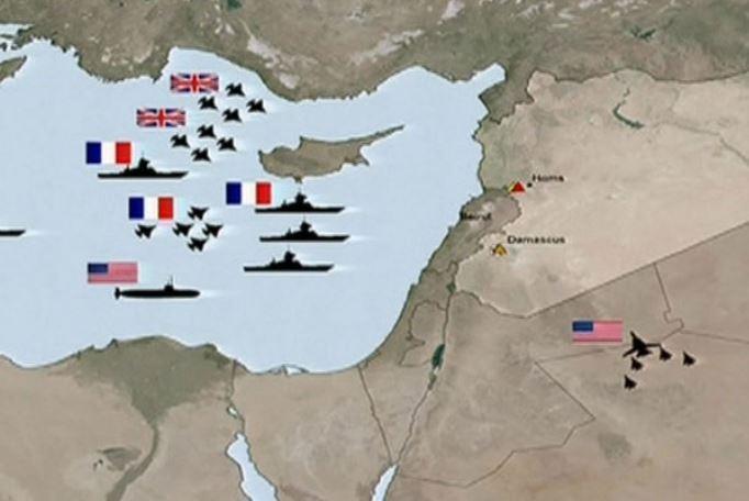 """Британия сообщила, что атаковала Сирию из """"гуманитарных соображений"""""""