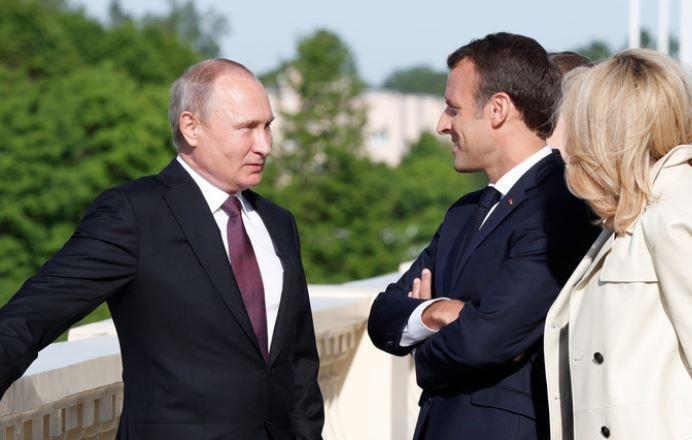 Макрон: РФ — европейская страна и обязана быть связана с Европой