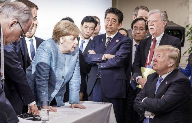В бундестаге считают, что Трамп устроил катастрофу на саммите G7