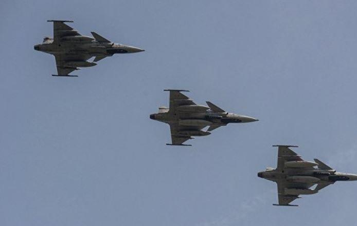 ВВС Венгрии были подняты по тревоге из-за Украины
