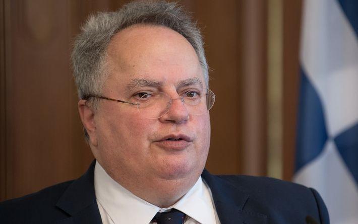 Глава МИД Греции прилетит в РФ для встречи с Лавровым