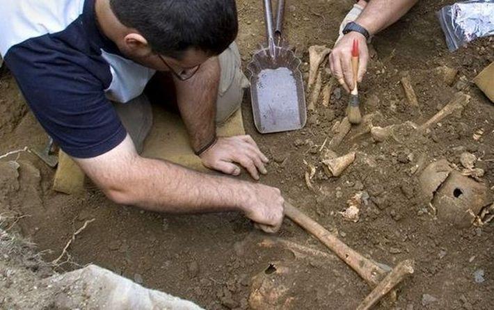 В Перу раскопали останки 56 принесенных в жертву детей. Видео