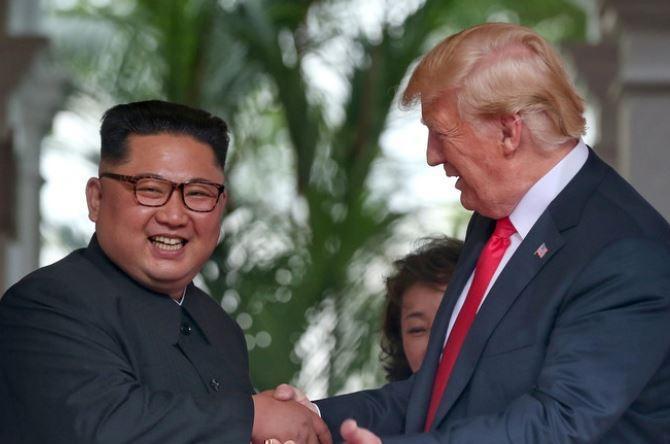 Дональд Трамп и Ким Чен Ын оформили двустороннее соглашение