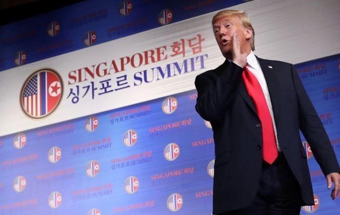 Трамп сообщил, когда может стартовать процесс денуклеаризации КНДР