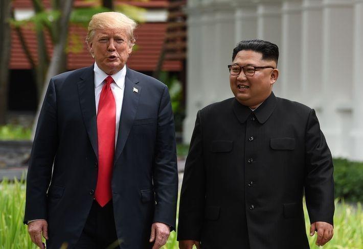 Лавров прокомментировал переговоры лидеров США и КНДР