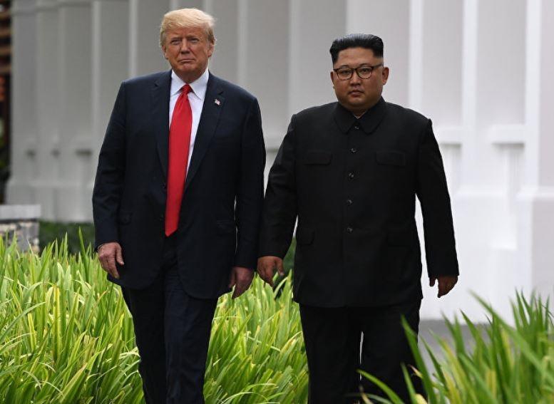 Ким Чен Ыну пришлось надеть обувь на платформе для общения с Трампом