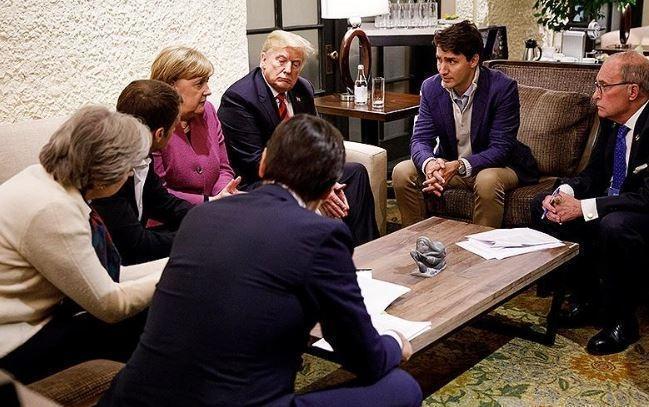 СМИ узнали о «колкостях» Трампа в адрес лидеров G7 на прошедшем саммите