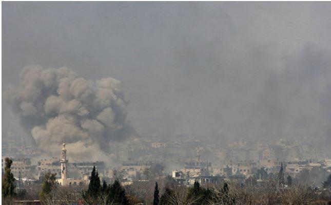 Коалиция США разбомбила деревню в Сирии