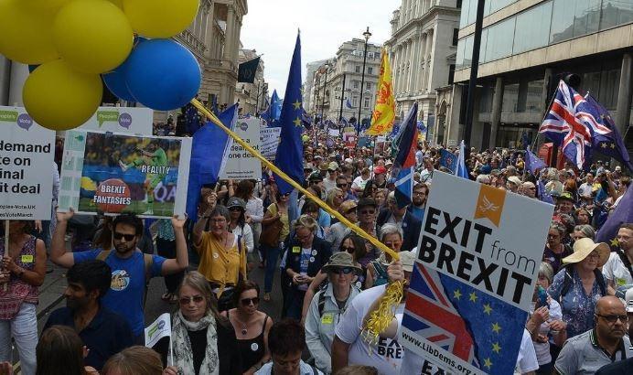 В Лондоне начались бунты в центре города