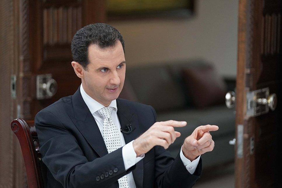 Асад: не позволим Западу участвовать в восстановлении Сирии