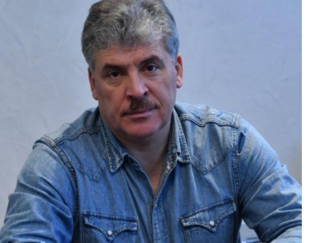 Павел Грудинин рассказал супруге о разводе по смс