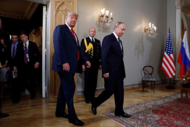 Несмотря на опоздание Путина Трамп прибыл на встречу еще позже